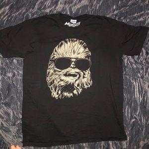 Chewbacca black T-shirt large